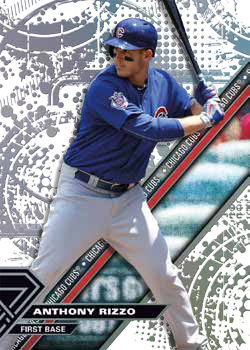 2017 Topps High Tek Baseball Base Pattern 1