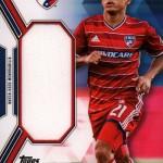 2017 Topps MLS Jumbo Relic B