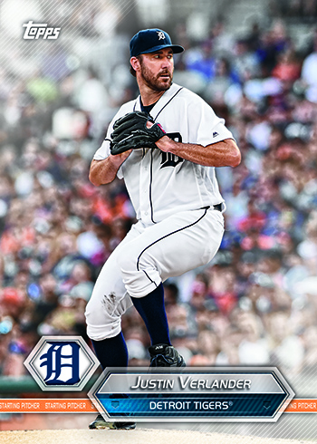 2017 Topps Sports Crate Justin Verlander