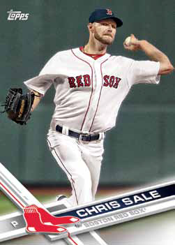 2017 Topps Update Series Baseball Base Chris Sale