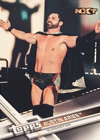 2017 Topps WWE 63 Austin Aries SSP Front