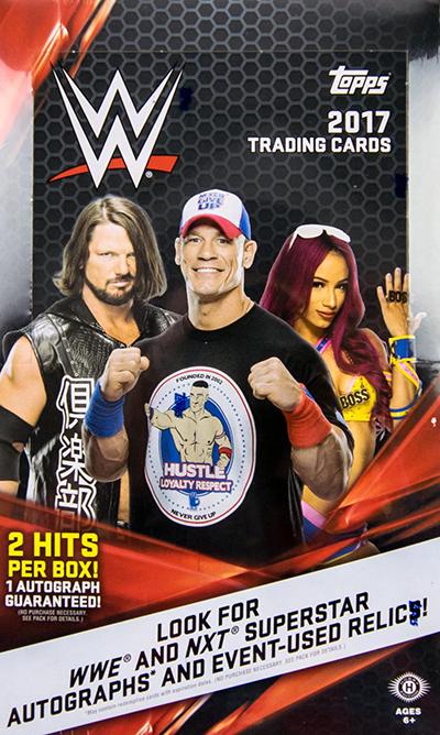 2017 Topps WWE Hobby Box
