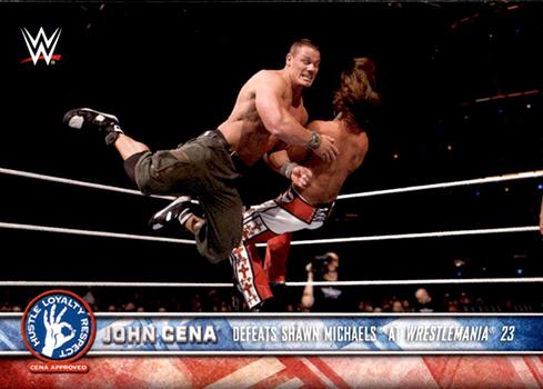 2017 Topps WWE John Cena Tribute