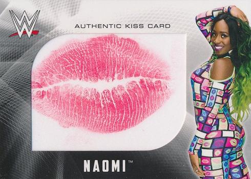 2017 Topps WWE Kiss Card Naomi