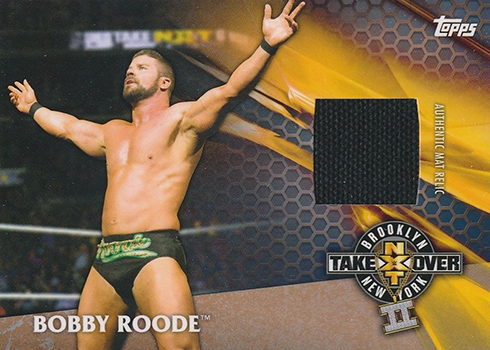 2017 Topps WWE NXT TakeOver Relic Bobby Roode