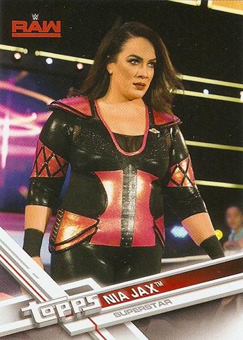 2017 Topps WWE Nia Jax Variation