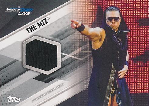 2017 Topps WWE Shirt Relic The Miz