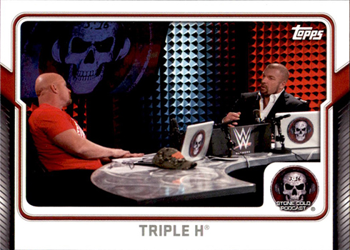 2017 Topps WWE Stone Cold Podcast