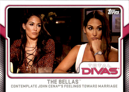 2017 Topps WWE Total Divas