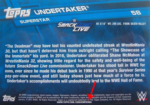 2017-Topps-WWE-Undertaker-SSP-Back
