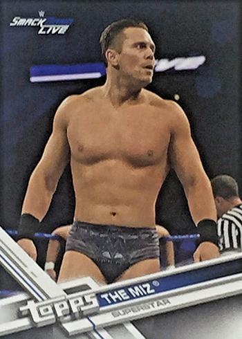 2017 Topps WWE Variations 58 The Miz