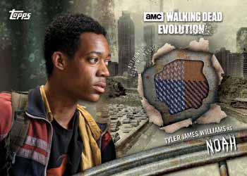 2017 Topps Walking Dead Evolution Relic