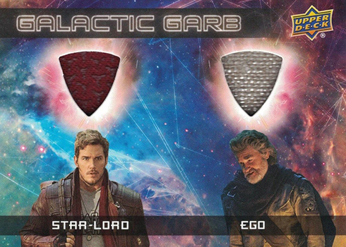 2017 Upper Deck Guardians of the Glaxy Vol 2 Galactic Garb Dual