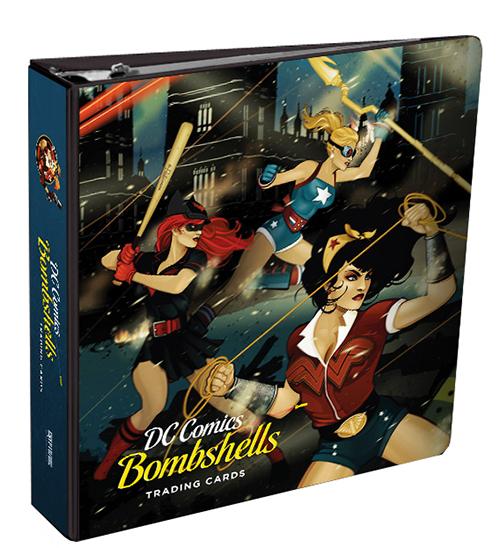 Cryptozoic DC Comics Bombshells Binder