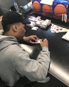 Lillard Signing