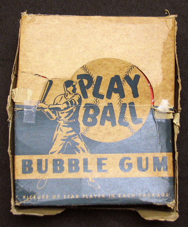 1948 Bowman Baseball Box Closed