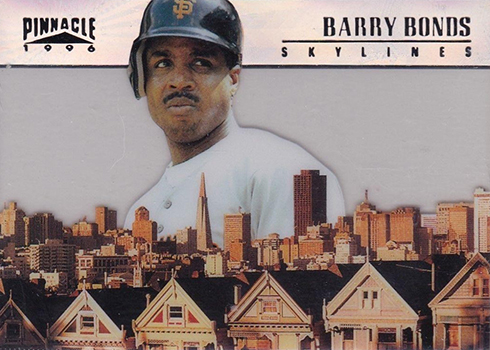 1996 Pinnacle Skylines 10 Barry Bonds