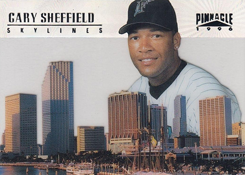 1996 Pinnacle Skylines 11 Gary Sheffield