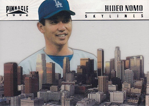 1996 Pinnacle Skylines 12 Hideo Nomo