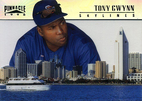 1996 Pinnacle Skylines 13 Tony Gwynn