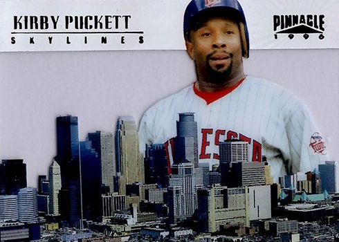 1996 Pinnacle Skylines 14 Kirby Puckett
