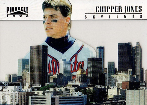 1996 Pinnacle Skylines 15 Chipper Jones