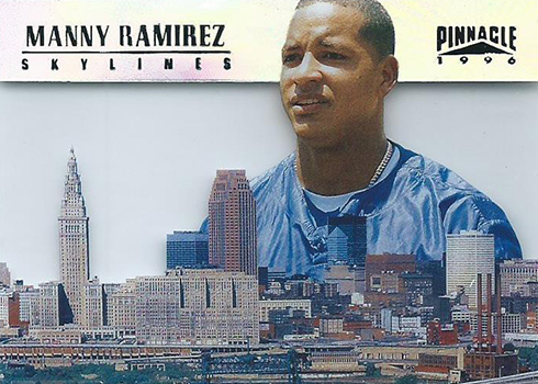 1996 Pinnacle Skylines 17 Manny Ramirez