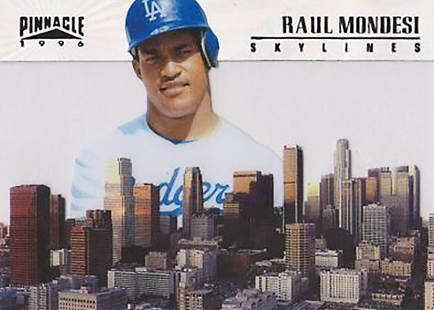 1996 Pinnacle Skylines 18 Raul Mondesi