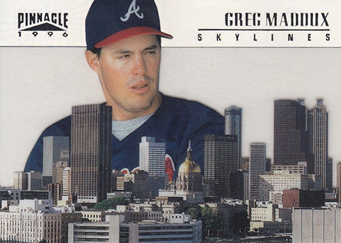 1996 Pinnacle Skylines 3 Greg Maddux