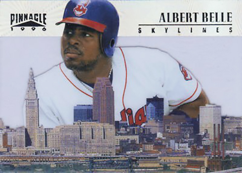 1996 Pinnacle Skylines 5 Albert Belle
