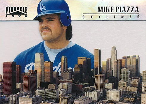 1996 Pinnacle Skylines 7 Mike Piazza