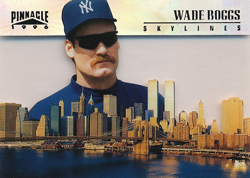 1996 Pinnacle Skylines Wade Boggs