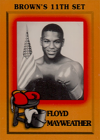 1997 Browns Boxing Floyd Mayweather