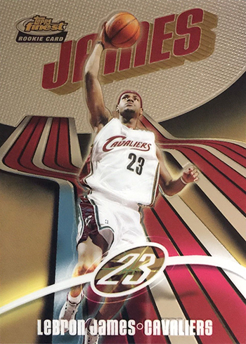 2003-04 Finest LeBron James RC