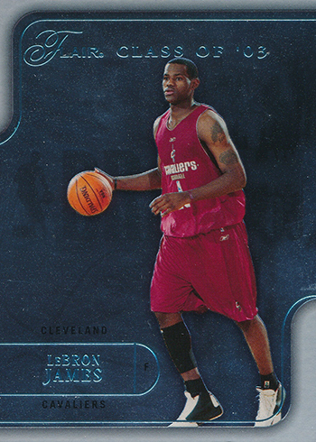 2003-04 Flair LeBron James RC