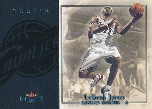2003-04 Fleer Patchworks LeBron James RC
