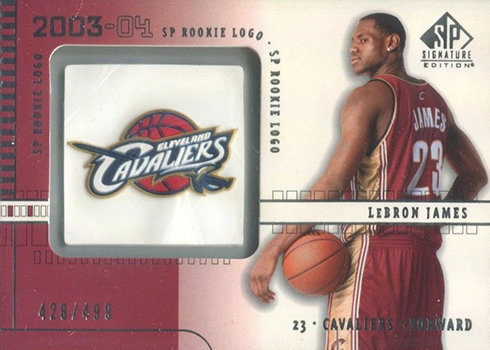 2003-04 SP Signature LeBron James RC