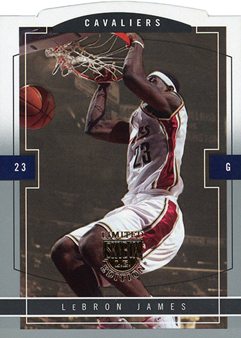 2003-04 SkyBox LE LeBron James RC 99