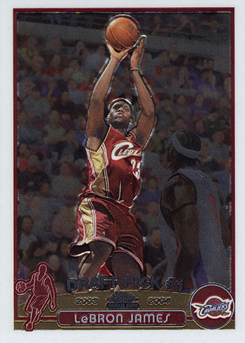 2003-04 Topps Chrome LeBron James RC