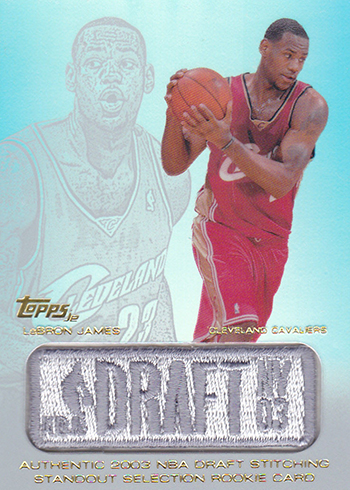 2003-04 Topps Jersey Edition LeBron James RC