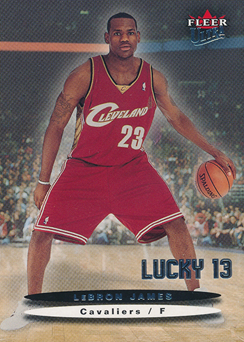 2003-04 Ultra LeBron James