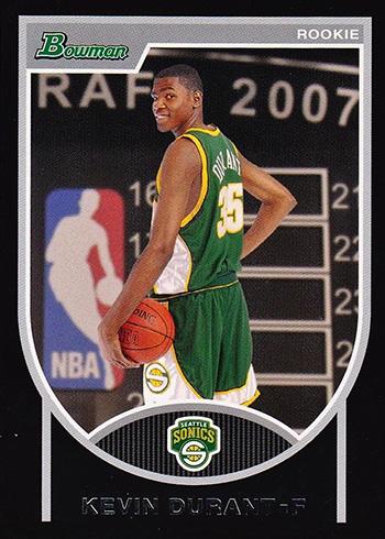 2007-08 Bowman Kevin Durant RC