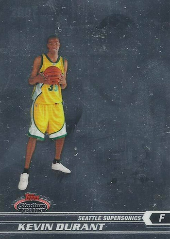 2007-08 Stadium Club Kevin Durant RC