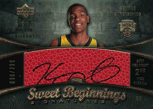 2007-08 Sweet Shot Kevin Durant RC
