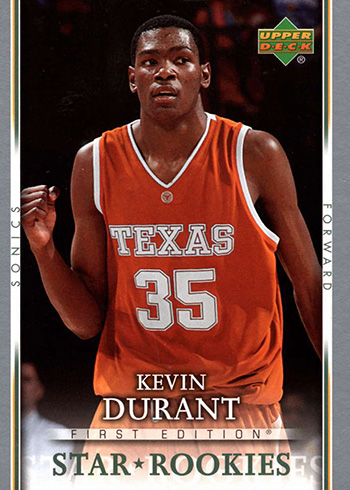 2007-08 Upper Deck First Edition Kevin Durant