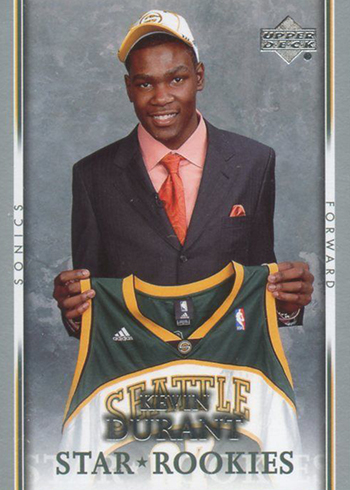 2007-08 Upper Deck Kevin Durant RC