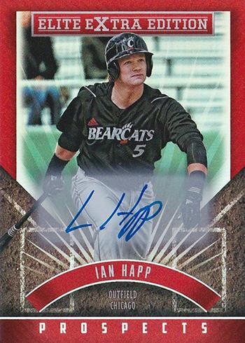 2015 Elite Extra Edition Prospect Autographs Ian Happ