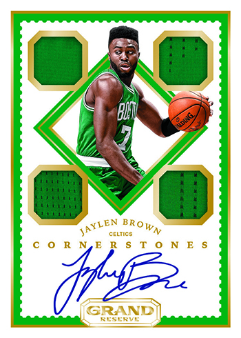 2016-17 Panini Grand Reserve Basketball Rookie Cornerstones