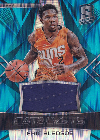 2016-17 Panini Spectra Basketball Catalysts Neon Blue Eric Bledsoe