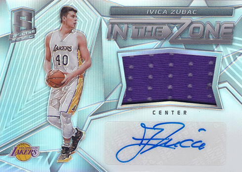 2016-17 Panini Spectra Basketball In the Zone Ivica Zubac